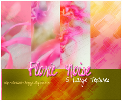 TEXTURE PACK 6 - FLORIC NOISE by chazzief