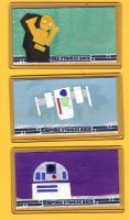 Empire Strikes B Sketch cards by kettleart