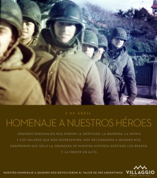 Heroes de Malvinas by upstudio