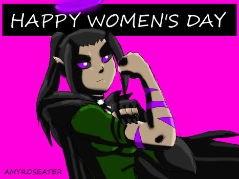 Happy Women's Day by amyroseater