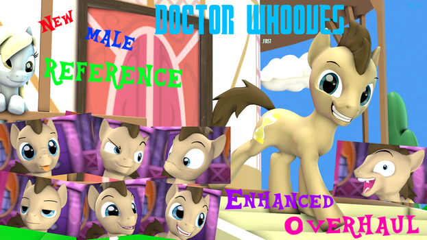 [SFM/DL]Enhanced Overhaul maly Dr. whooves (first) by ArtyHiTecH