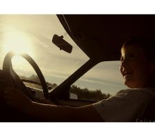 The little driver. by imm0bile