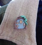 Hobbit/fairy Door Pin by FeynaSkydancer