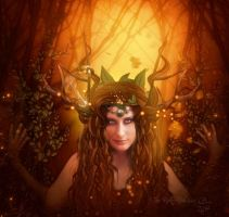 The daughter of Cernunnos by MelieMelusine