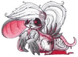 My OC - Rat and Bird Form - Ghost by MotherGarchomp622