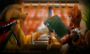 #12 Librarier and reader, the pact of wisdom by DestinySword