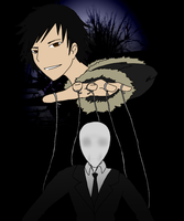 If Izaya was in a video game -Digitalized-2- by CrypticGrin