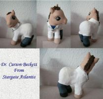My little Pony Custom Carson by BerryMouse