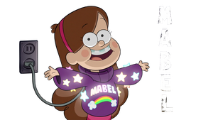 Mabel Pines Render by PokemonLover7669