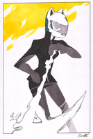 Celty Sturlusson by Stereospirit