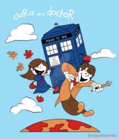 Clara and Doctor by renatyp