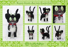 Kuro from Ao no Exorcist:::::: by Witchiko