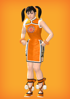 Xiaoyu Tekken 3 pose by Strawberry-Pink05