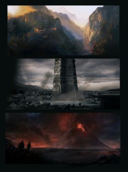 LOTR Trilogy by lord-phillock