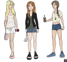Outfits I'd like to wear irl by thenameisbichie