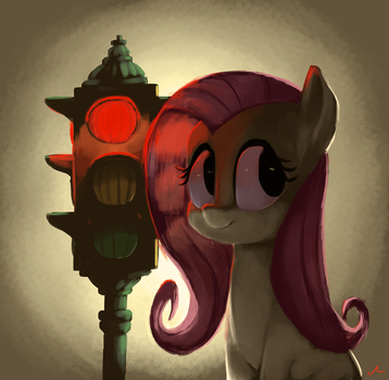 Red Light Flutter Shight by DocWario