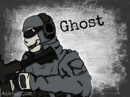 Ghost by Ashfurzcat