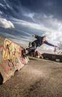 HDR Wallride by semyk3