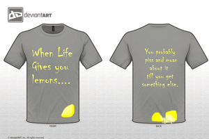 Life and lemons by IamDarknessTayler