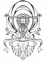 libra lineart by Etherspark