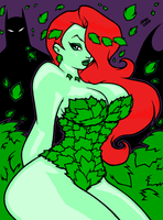 pretty____Poison_ivy colaberat by animec20