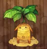 Marvin the Mandrake by ZestyDoesThings