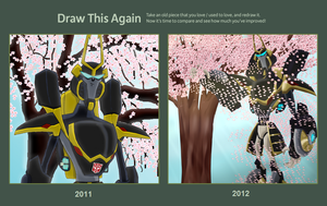 Prowl and a Cherry Tree Challange Contest by imaphantomfan