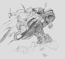 Al Simmins Vs Spawn by AlfredoP