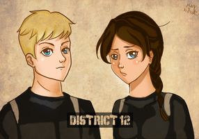 District 12 - Hunger Games by May-Andrade