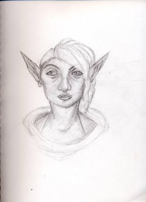 Elf Character (pencils)