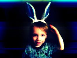Elijah the easterbunny 2 by LBBPhotography