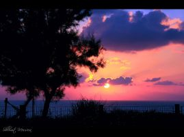 Mediterannean sunset  5 by ShlomitMessica