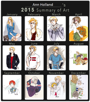 2015 Summary Drawings by AnnHolland