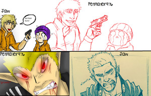 Collab JAWn'Pets comic redraws by petplayer976