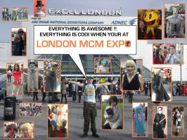 Everything is awesome at London MCM Expo !!!!!!!!! by DoctorWhoOne