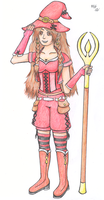 Red-Mage Osi by VyvianLee