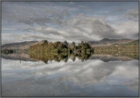 Derwentwater Morning by Rebacan