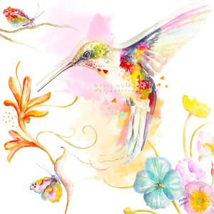 Hummingbird Dance by MonaParvin
