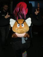 Goomba Backpack by Oriana-X-Myst