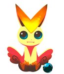 Victini by volatileT1MES