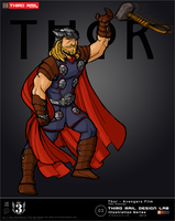 TRDL - Thor (Avengers Film Redesign) by TRDLcomics