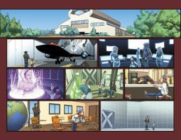 Run issue 10 pages 8-9 by CeeCeeLuvins