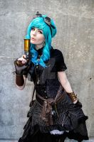 Aqua J Steam Punk Edition A by spritepirate