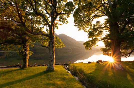 Buttermere Sunset by scotto