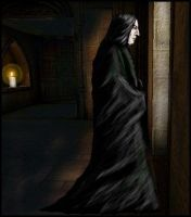 Snape in Solitude - AmberLion by snapefanclub