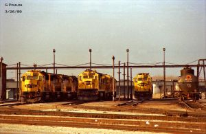 ATSF Corwith DS 2 3-26-89 by eyepilot13