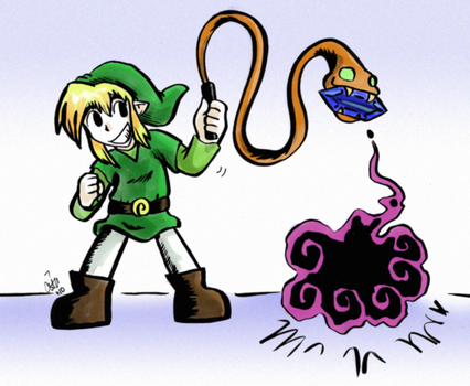 Link Whips It Good by raizy