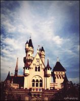 Disney's Castle. by ajangajeng