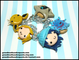 Custom Pokemon Trainer Bracelet II by GrandmaThunderpants