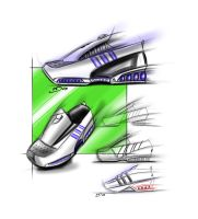 Adidas running shoes by mikednhm